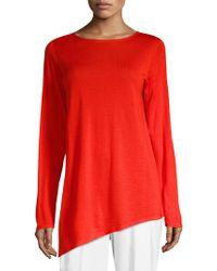 Eileen Fisher - Wool Cashmere & Silk Tunic - Lyst