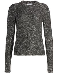 FRAME Sequin Sweater - Gray
