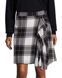 Public School | Gina Plaid Skirt | Lyst