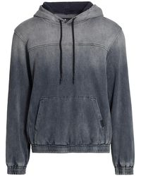 7 For All Mankind Faded Drawstring Hoodie - Gray