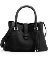 Loro Piana - Mini Bellevue Leather Satchel - Lyst