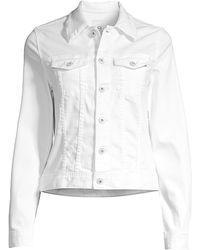 AG Jeans Robyn Denim Jacket - White