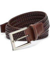 Saks Fifth Avenue - Braided Leather Blend Belt - Lyst
