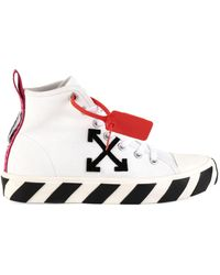 Off-White c/o Virgil Abloh - Mid-top Arrow Sneakers - Lyst