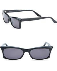 Andy Wolf   53mm Rectangular Sunglasses   Lyst