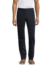 Theory - Solid Trousers - Lyst