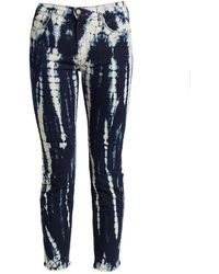 Mother The Dazzler Mid-rise Ankle Jeans - Blue