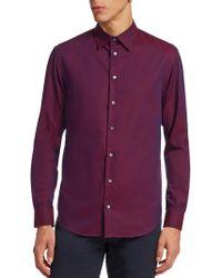 Emporio Armani - Classic Cotton Button-down Shirt - Lyst
