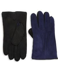 Saks Fifth Avenue - Collection Two-tone Leather Gloves - Lyst