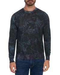 Robert Graham Mindscape Printed Sweatshirt - Black