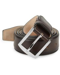 Sutor Mantellassi - Carter Adjustable Leather Belt - Lyst