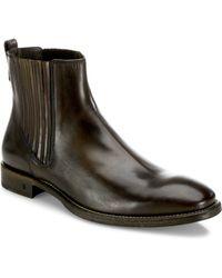 John Varvatos - Fleetwood Paneled Chelsea Boots - Lyst