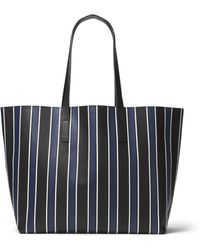 Michael Kors - Striped Tote Bag - Lyst