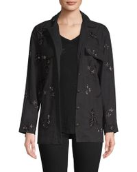 The Kooples - Embroidered Ruth Jacket - Lyst