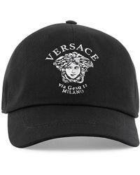 Versace - Medusa Logo Baseball Cap - Lyst