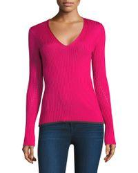 Rag & Bone - Alyssa V-neck Pullover - Lyst
