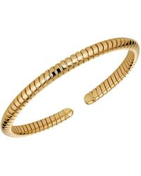 Marina B 18k Yellow Gold Bangle Bracelet - Metallic