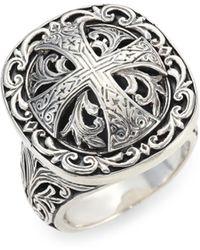 Konstantino - Sterling Silver Ring - Lyst