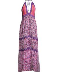 Ramy Brook Printed Rosella Dress - Purple