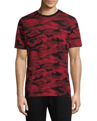 The Kooples - Cotton Camouflage Tee - Lyst