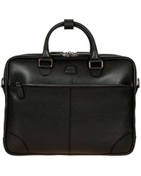 Bric's Varese Large Business Briefcase - Black
