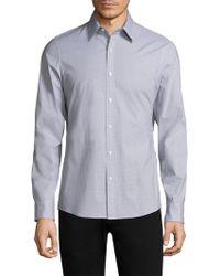 Michael Kors - Danton Printed Button-down Shirt - Lyst