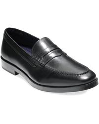 Cole Haan - Dress Revolution Hamilton Grand Leather Penny Loafers - Lyst