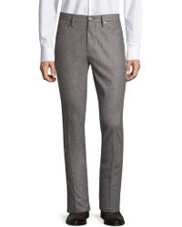 Incotex - Moss Sport Flannel Trousers - Lyst