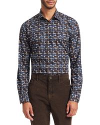 Saks Fifth Avenue - Collection Whale Print Shirt - Lyst