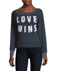 Sundry - Love Wins Pullover - Lyst