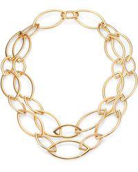 Vhernier - Pop 18k Rose Gold Marquis Chain Necklace - Lyst