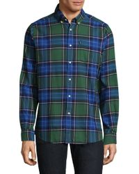 Barbour - Tartan Cotton Casual Button-down Shirt - Lyst