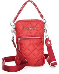 MZ Wallace - Micro Quilted Crossbody Bag - Lyst