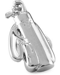 David Donahue - Sterling Silver Golf Bag Lapel Pin - Lyst