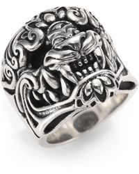 King Baby Studio - Sterling Silver Ring - Lyst
