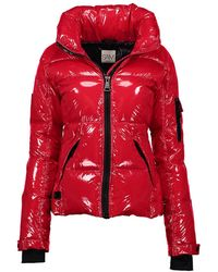 Sam. Sam. Freestyle Down Nylon Puffer Jacket - Red