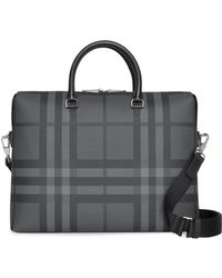 Burberry - Manchester Check Briefcase - Lyst