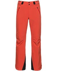 Aztech Mountain Winter Insulated Ski Pants - Red
