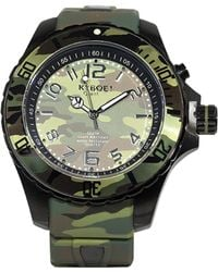 Kyboe | Stainless Steel Camo Watch | Lyst