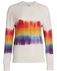 27milesmalibu Ophelia Cashmere Tie-dye Sweater - Multicolor