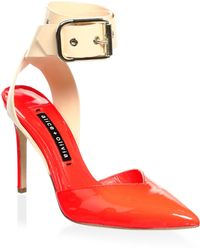 Alice + Olivia - Rachelle Patent Leather Point Toe Pumps - Lyst