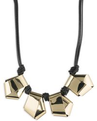 Alexis Bittar - Roxbury Muse Knot Necklace - Lyst