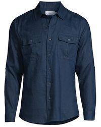 Onia - Garret Linen Shirt - Lyst