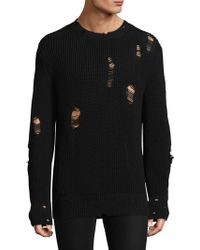 IRO - Long-sleeve Perforated Sweater - Lyst