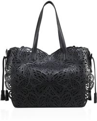 Sophia Webster - Liara Laser-cut Leather Tote - Lyst