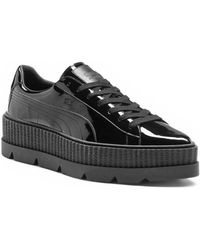 PUMA - Pointy Patent Leather Creeper Sneakers - Lyst