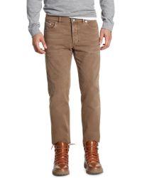 Brunello Cucinelli - Colored Denim Pants - Lyst