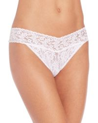 "Hanky Panky - Bridal ""i Do"" Original Rise Thong - Lyst"