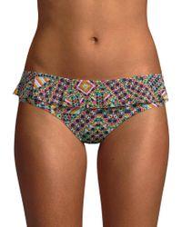 OndadeMar - Ruffle Bikini Bottom - Lyst