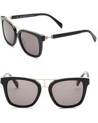 Balmain - Modified 52mm Wayfarer Sunglasses - Lyst